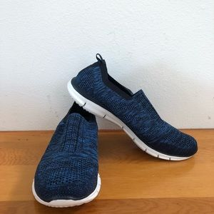 Skechers Air-Cooled Memory Foam Slip on Sneakers